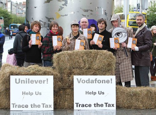 Tax Justice 'Trace the Tax' Campaign launch