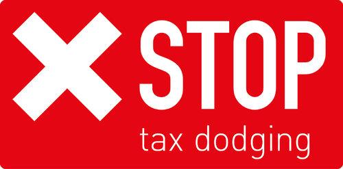 Stop Tax Dodging Logo