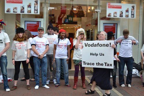 Vodafone trace the tax