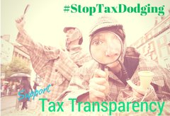 Tax Transparency Magnifying Glass